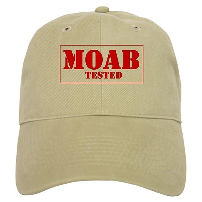 4ef9b2e755099 Amazon.com  CafePress - Moab Tested - Baseball Cap with Adjustable ...