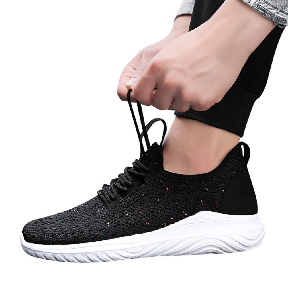 beautyjourney Scarpe Running Uomo da Ginnastica Scarpe Sneakers estive Eleganti Donna Scarpe da Corsa Uomo Sportive Scarpe Uomo Stringate - Uomo Legato Rotonda Scarpe da Ginnastica