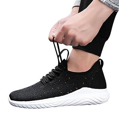 beautyjourney Scarpe Running Uomo da Ginnastica Scarpe Sneakers estive  Eleganti Donna Scarpe da Corsa Uomo Sportive 42b2a14d6fa
