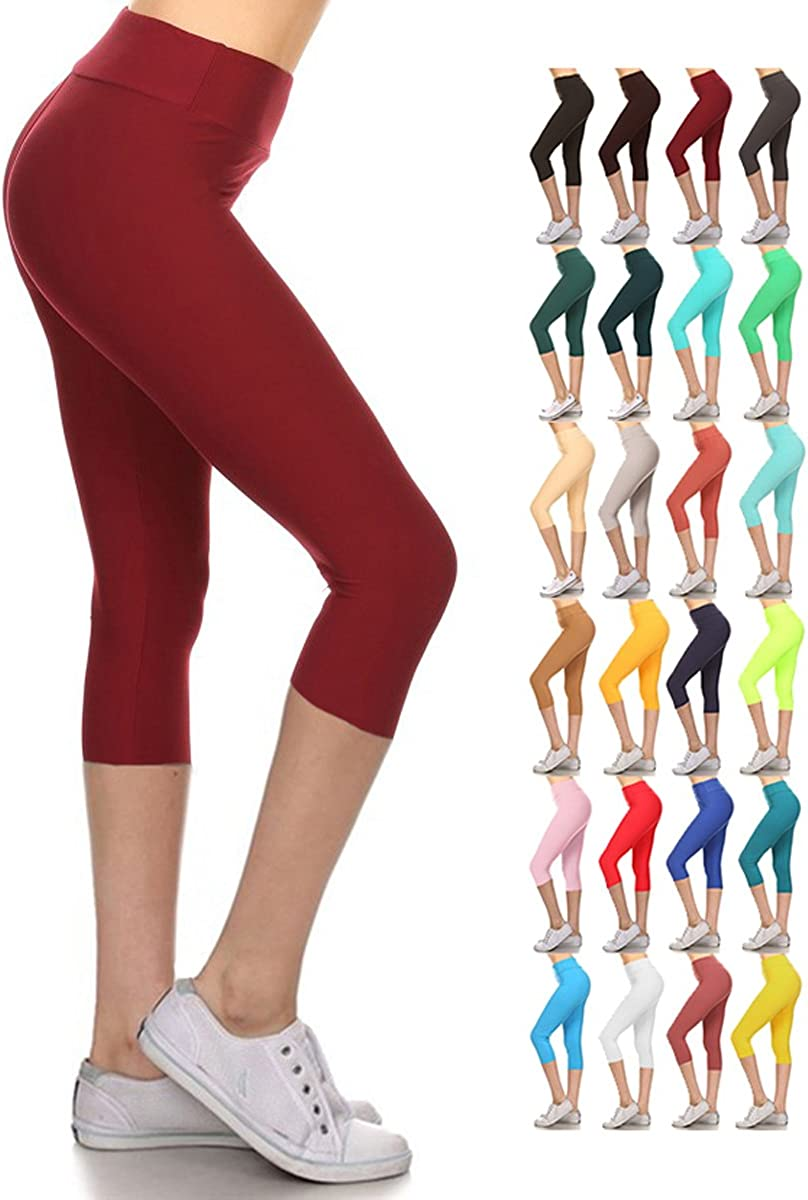 Colors /& 1000 Soft /& Slim Prints Leggings Depot High Waisted Leggings 37