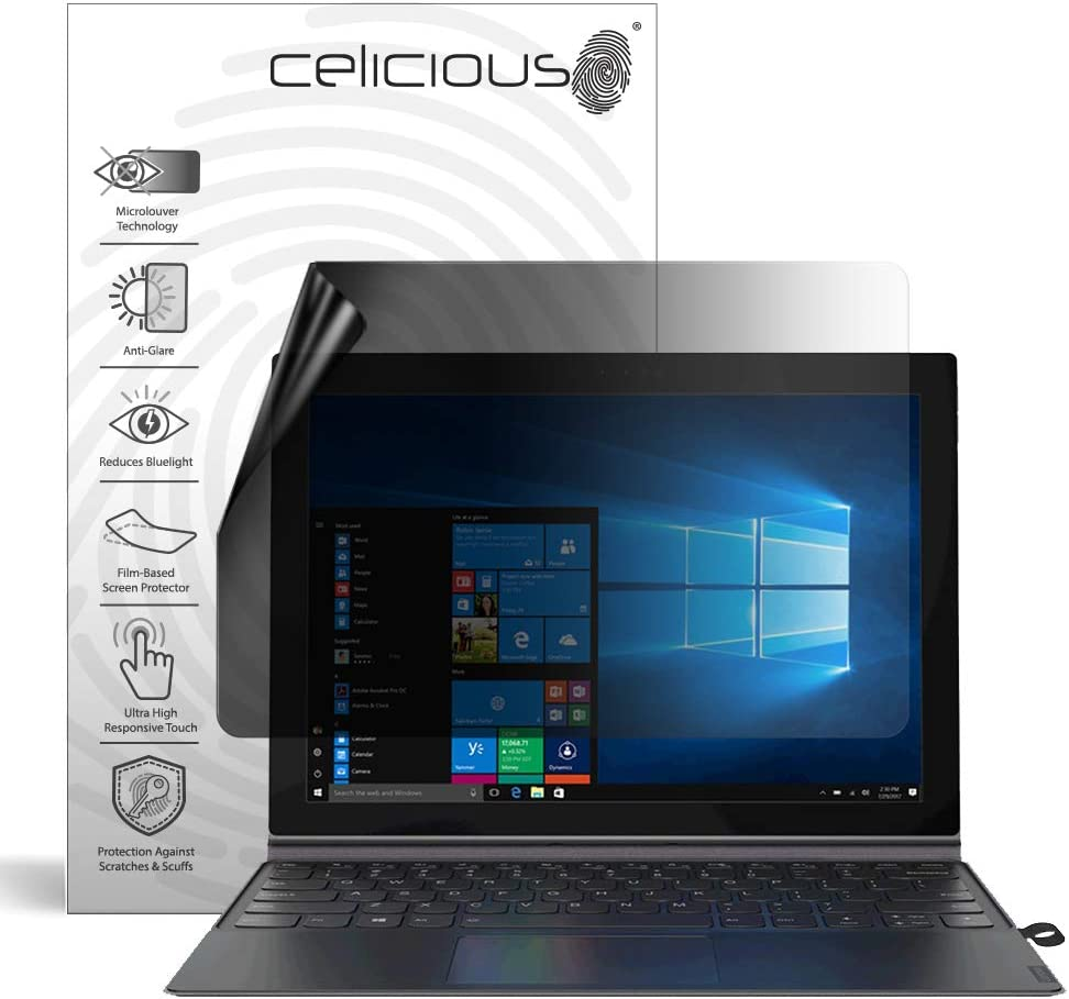 Celicious Impact Anti-Shock Shatterproof Screen Protector Film Compatible with Lenovo Miix 630