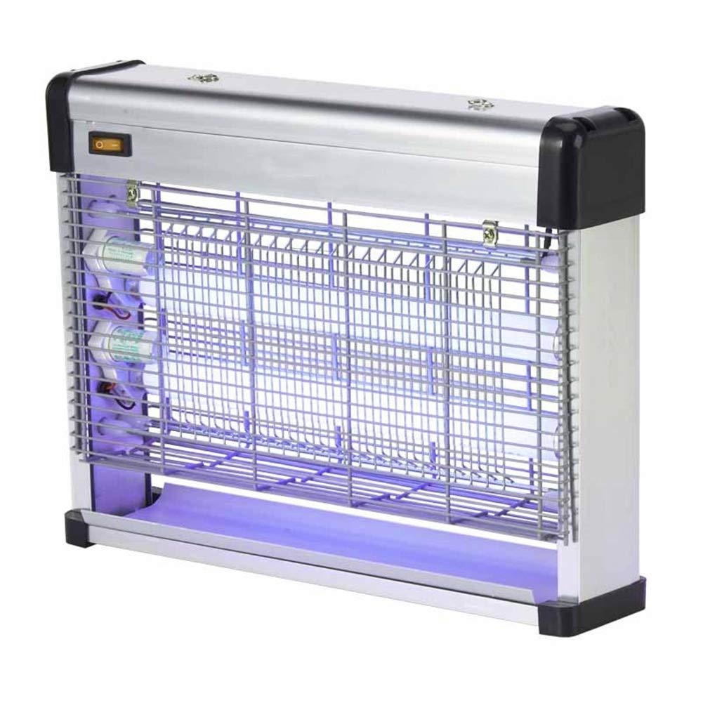 WUFENG 蚊ランプ 電気の バグザッパー ミュート 家庭 昆虫のキラー 放射線フリー アンチフライペストコントロールライト (色 : シルバー しるば゜, サイズ さいず : 39.5x9.5x30cm) B07QM813L3 シルバー しるば゜ 39.5x9.5x30cm