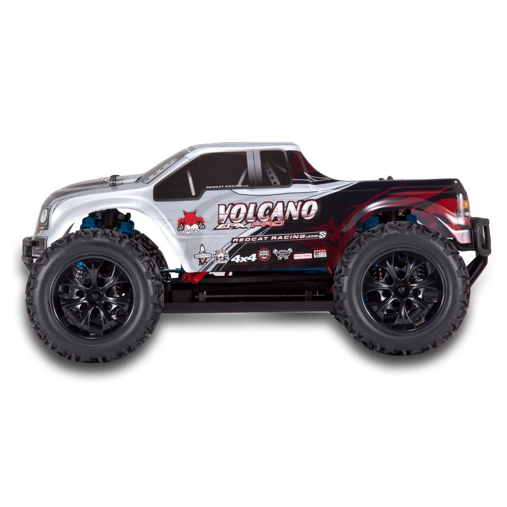 Volcano EPX Pro 1/10 Scale Brushless Truck Silver by Redcat Racing (Image #6)