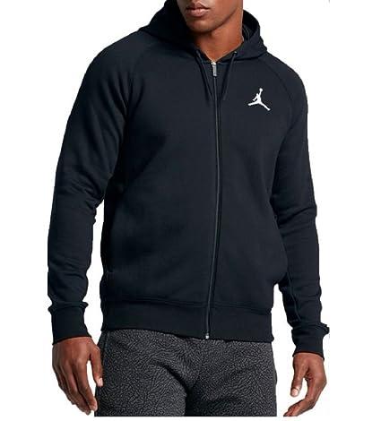3b3f4971eb87d3 Amazon.com   Nike Jordan Men s Flight Full Zip Fleece Basketball ...