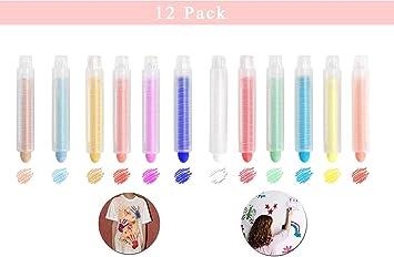 smileh Tiza Tizas de Colores 12Pcs: Amazon.es: Juguetes y juegos
