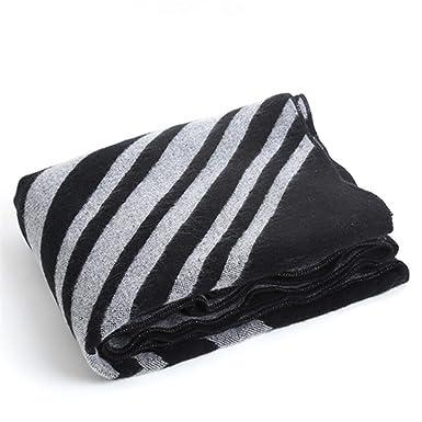 Femme écharpe Chaud Thicker Oblique Stripes Cape Châle ,Diagonalstripesshawl-Medium 034a7c881a1