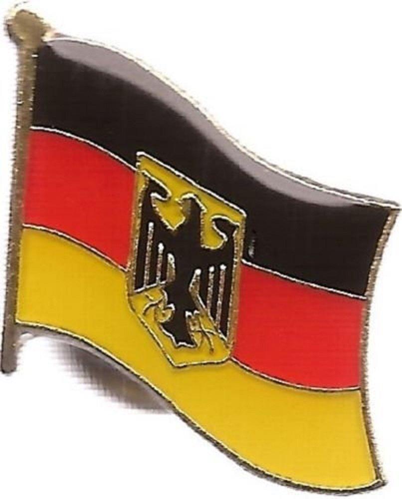 German Eagle Germany Country Flag Bike Motorcycle Hat Cap lapel Pin BEST material PREMIUM Vivid Color and UV Fade Resistant