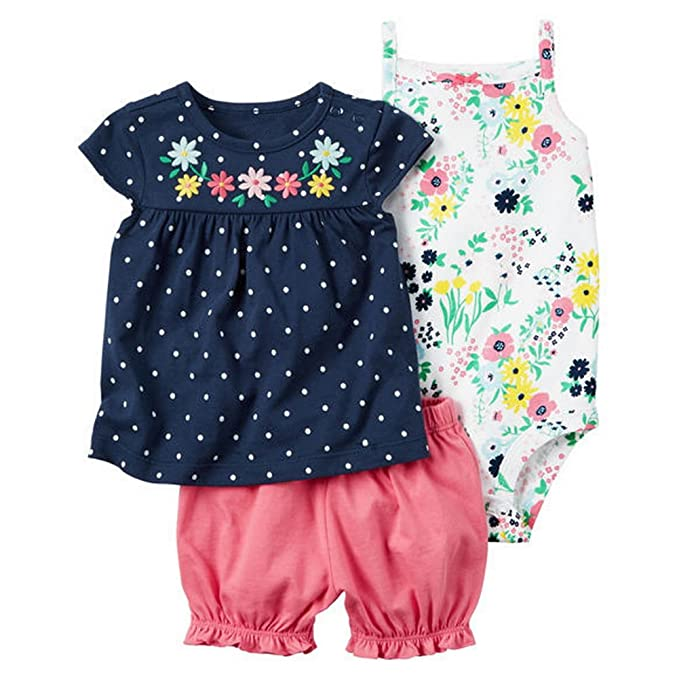 d9036f1b85b61 Rompers ARAUS Newborn Baby Girl Romper Bodysuits Cotton Flutter Sleeve One-Piece  Romper Outfits Clothes