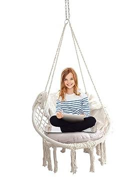Feiren Outdoor Livingroom Hanging Macrame Chairs Hammocks Chairs   Home  Deco / Boho Style / Patio