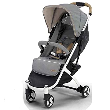 Nanetty Karibú - Silla de paseo plegable y multifuncional, unisex, color gris: Amazon.es: Bebé