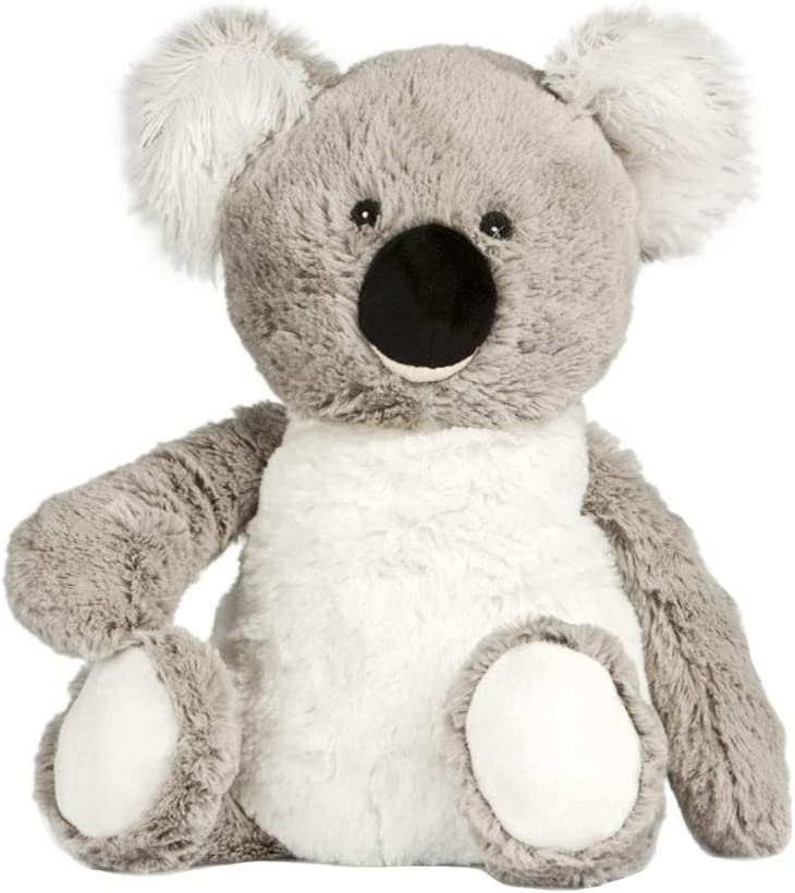 Grey Plush Koala Koo PELK White