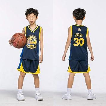 Maillots de Baloncesto para Niños - Conjunto NBA Bulls Jordan#23 / Lakers James#23 / Warriors Curry#30 Camiseta de Baloncesto Chaleco & Pantalones ...
