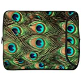 Designer Sleeves 17-Inch Peacock Laptop Case (17DS-PEACOCK)