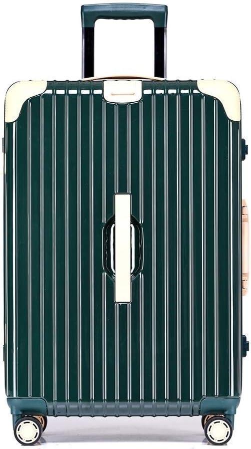 WSJTT Caja de la Carretilla, de Gran Capacidad de Shell Duro del Viaje Maleta con Pull Rod y Ampliable Ruedas Universal de múltiples Colores y tamaño for Elegir (Color : Style D, Size : 26 Inch)