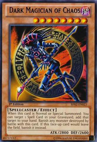 Yu-Gi-Oh! - Dark Magician of Chaos (BP02-EN023) - Battle Pack 2: War of the Giants - 1st Edition - Rare ()