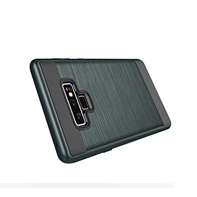 Funda Galaxy Note 9 Carcasa, 2 EN 1 Silicona TPU + PC ...
