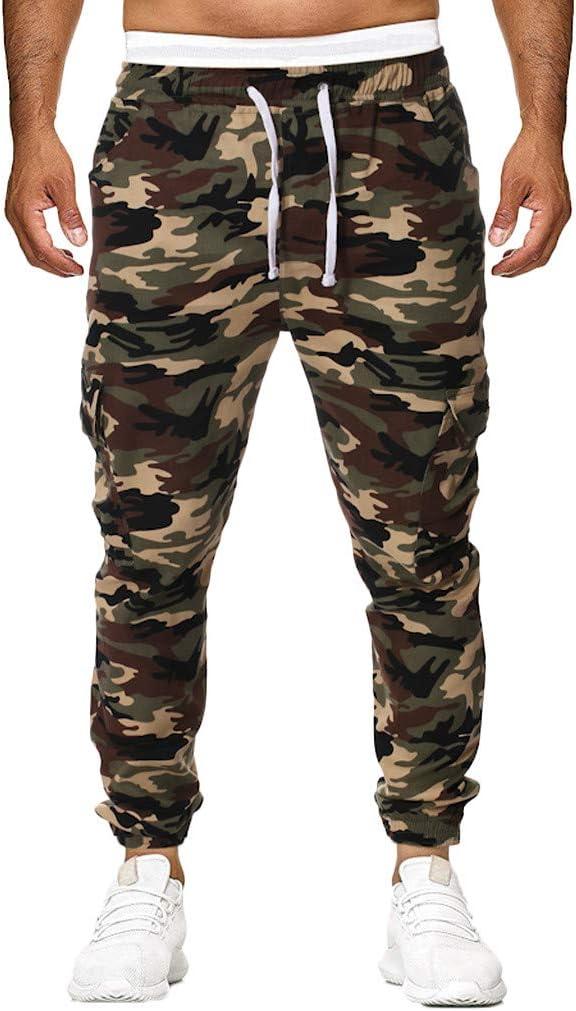 Amlaiworld_Hombre Chándal Hombre Pantalones Casuales de Hombres ...