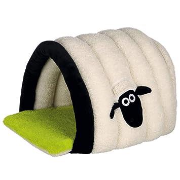 Trixie Shaun Das Schaf Manta Cueva Perros Gato Cama Gato Cueva Caseta: Amazon.es: Productos para mascotas