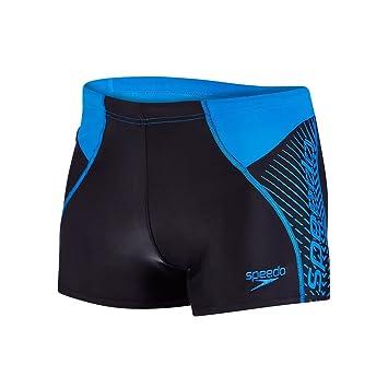 Amazon.com: Speedo para hombre Panel Aquashort AM natación ...