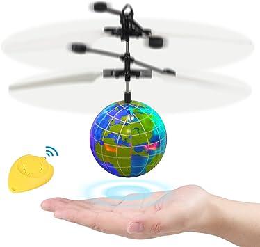 Magic Electric Flying Ball Hélicoptère Avec Lumière DEL Capteur Infrarouge Jouet Cadeau