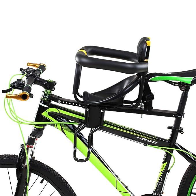 Wenhu Sillín de Seguridad para niños Sillín de Bicicleta Asiento ...