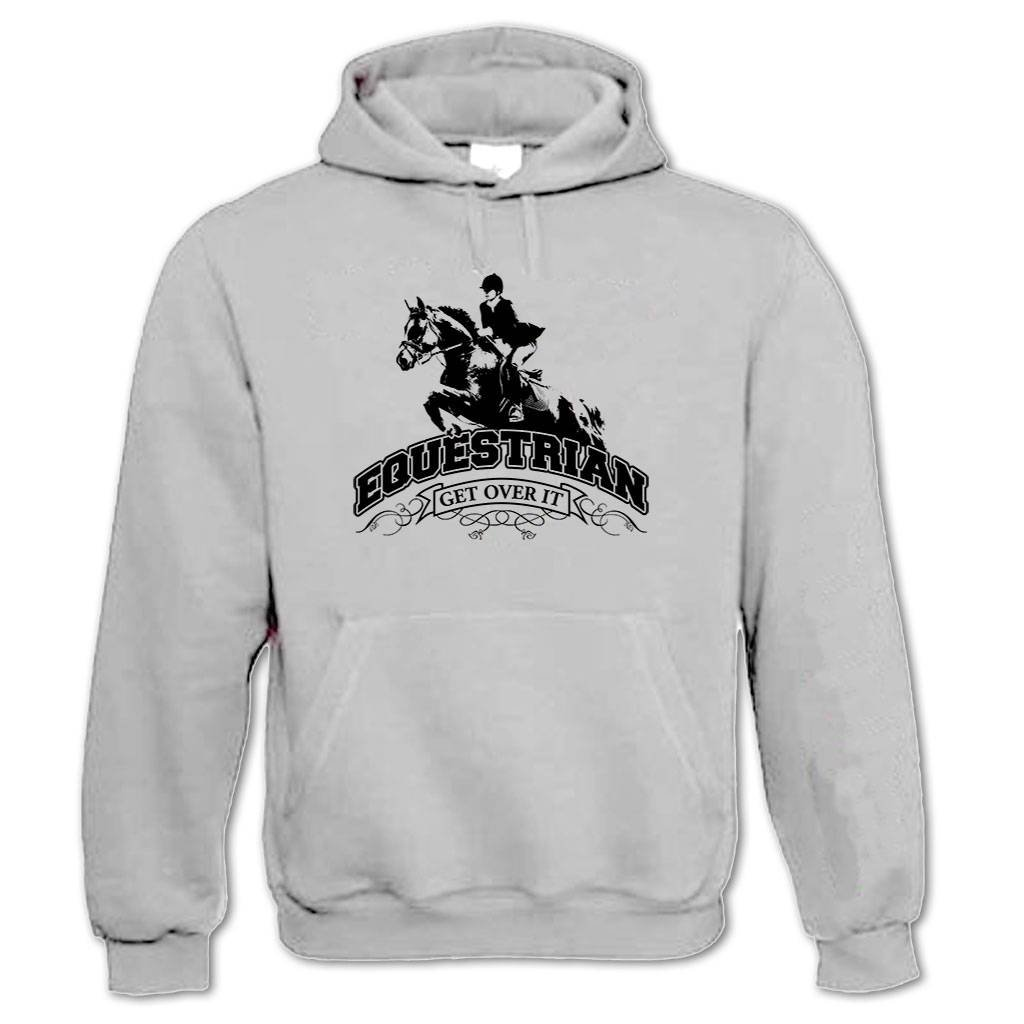 Bang Tidy Clothing Women's Equestrian Get Over It Hoodie FD3341PP16