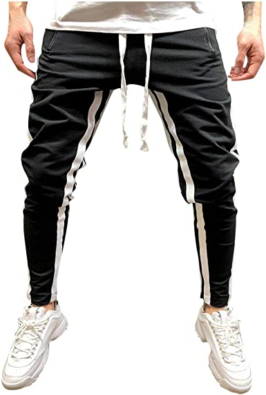 Pantalones Hombre Verano Casual a Juego Hip Hop Bolsillo Cadena Deportes Pantalones Deportivo Pantalon Fitness Chandal Trabajo Corta Pantalones Jogging Cómodo riou: Amazon.es: Ropa y accesorios