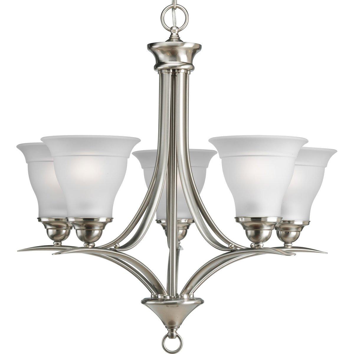 lights awesome light enchanting chandeliers lighting chandelier nickel brushed modern glass pendant