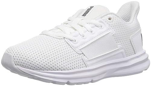 6b13d4556e PUMA Unisex-Kids Enzo Street Sneaker, White White-Iron Gate, 2 M
