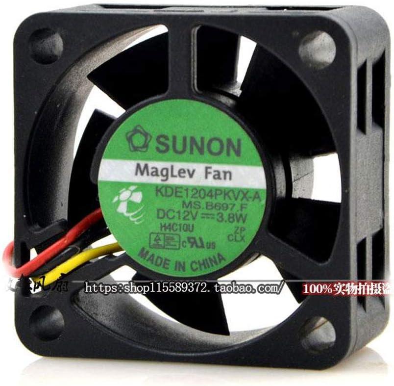 AVC KDE1204PKVX MS.M.B400 DC12V 1.6W Cooling Fan for SUNON