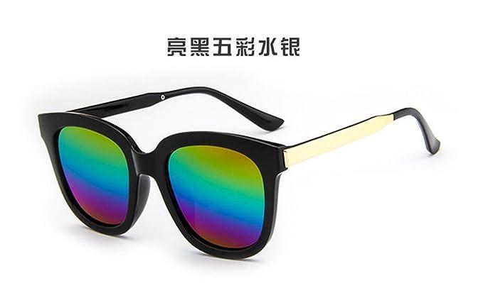 Sucastle Moda Gafas de Sol Retro Tendencia Gafas de Sol ...