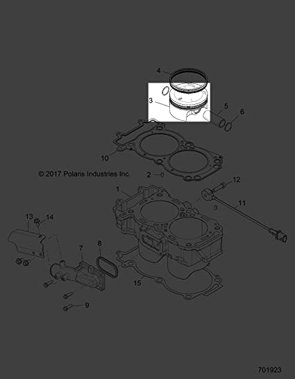Polaris 2016-2018 Rzr Xp4 Turbo Md Rzr Xp4 Turbo Intl K Piston 2206216 New