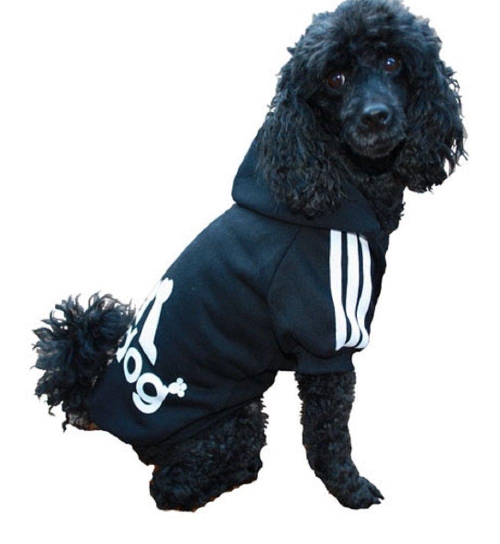 per cani di tutte le taglie Adidog Red felpa sportiva con cappuccio per animali domestici per cani e gatti KayMayn dalla S alla 9XL adatta anche ai cuccioli 7 colori disponibili XXXXXL