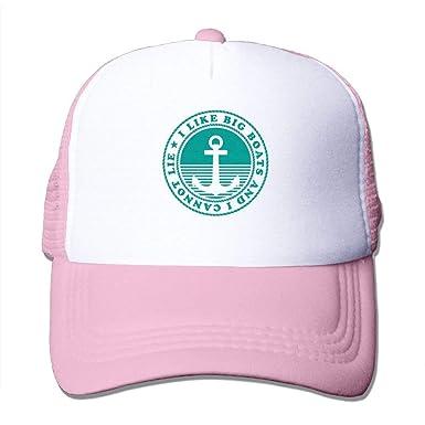 Me Gustan los Barcos Grandes y no Puedo mentir Sombrero de Malla ...