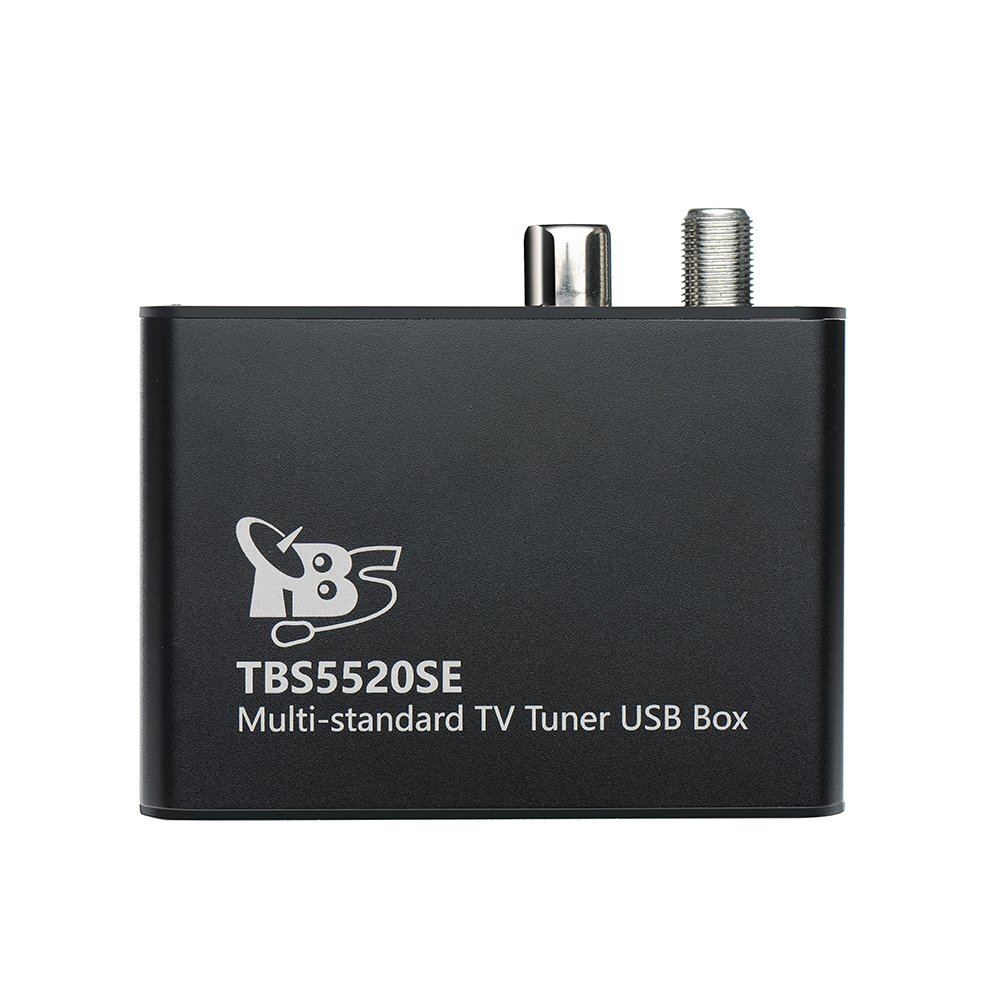 TBS 5520SE DVB-S2X/ S2/ S/ T2/ T/ C2/ C/ ISDB-T Digital TV Tuner USB Box for Live TV/ Window/ Linux/ HTPC/ IPTV Server by TBS