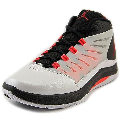 6f31977521b83b Nike Air Jordan Prime.Fly 2 White - Gym Red - Black - Infrared 23 Mens 8.5   Amazon.ca  Shoes   Handbags
