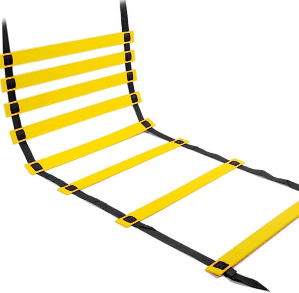 Tuliptown Durable Agility Ladder Quick Agility Training Ladder Speed Flat Rung