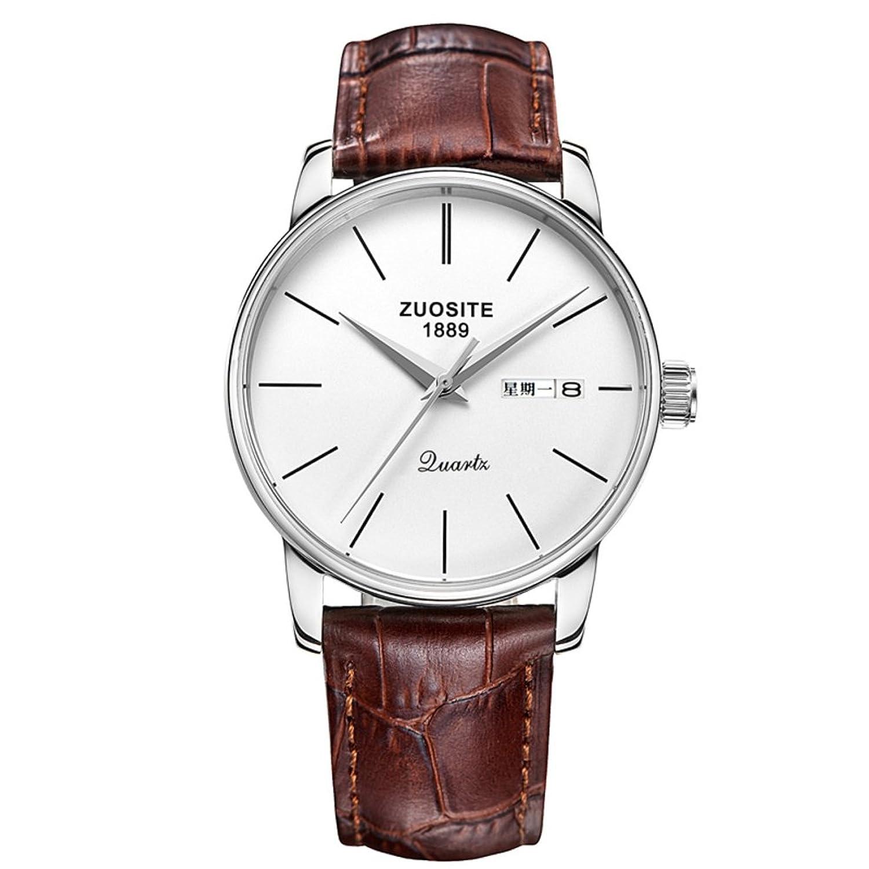 ファッション超薄型腕時計/シンプルカジュアル防水Watches男性用/クォーツwatch-c B06XJNDGGY