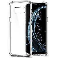 Spigen Ultra Hybrid Serisi Kılıf Galaxy S8 ile Uyumlu / TPU AirCushion Teknoloji / Ekstra Koruma - Crystal Clear