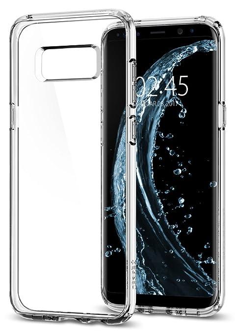 32 opinioni per Cover Galaxy S8, SPIGEN® Custodia [Ultra Hybrid] Tecnologia cuscino d'aria e la