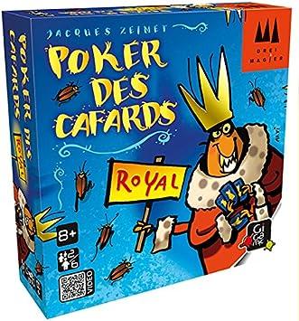 GIGAMIC DRKRO – Juego de Tarjeta – Poker de Las cucarachas Royal ...