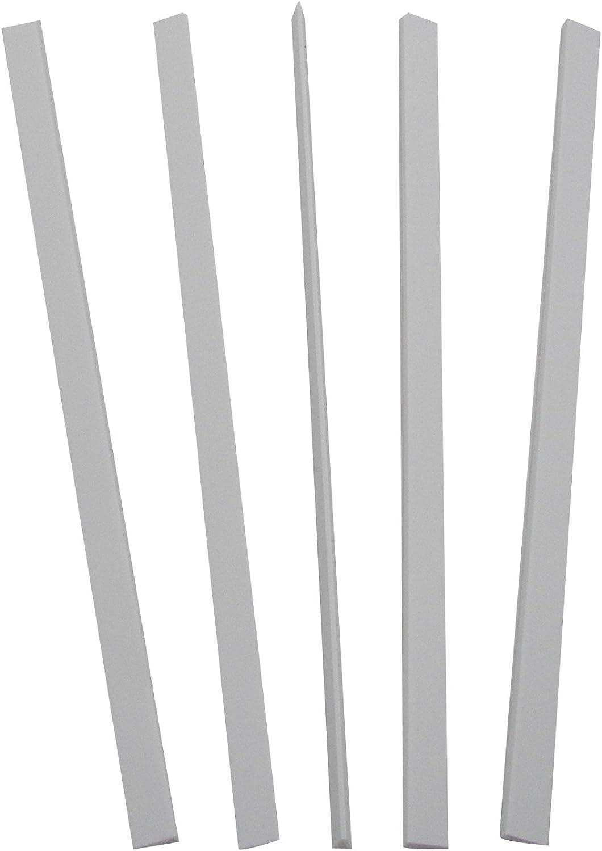 11 x 1//8 In... Value Bundle C-Line Slide /'N Grip Binding Bars for Report Covers