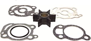 GLM Water Pump Impeller Repair Kit for Mercury 20 Hp 1970-1981 Replaces 18-3252, 47-89982T1 Read Product Description for Exact Applications