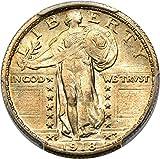 1918 S Standing Liberty Quarters Quarter MS65 PCGS\CAC