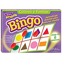 Bingo de Colores y Formas (Spanish Colors & Shapes) Bingo