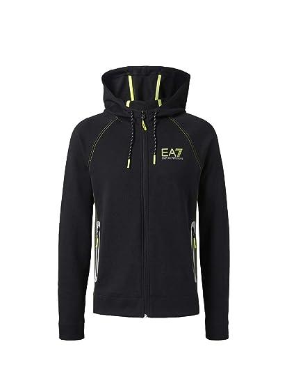 7fc3a3580a Emporio Armani Ea7 6ZPM34 PJJ5Z Sweatshirt Man Black M: Amazon.co.uk ...