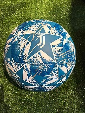 Maestri del Fútbol Balón Europa Champions League Blanco Autógrafo ...