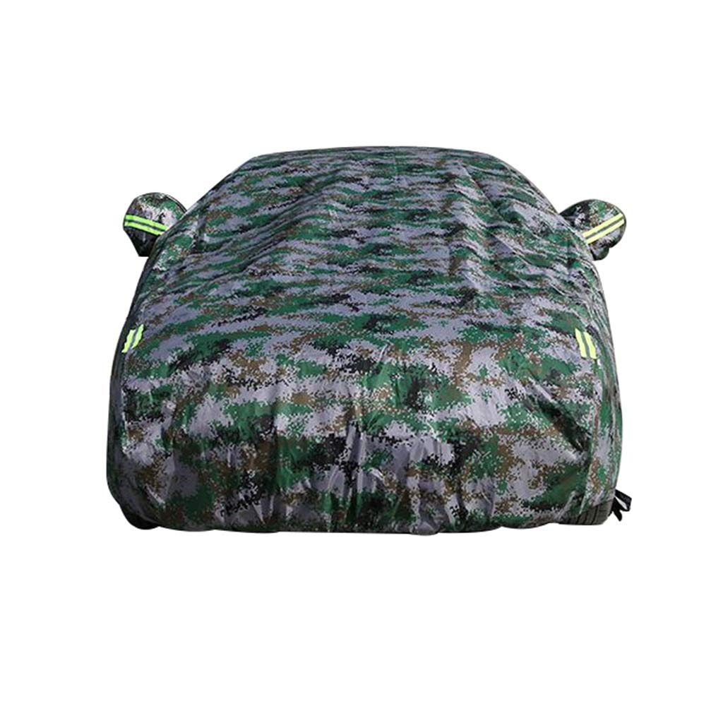 SAN_X Car Cover Car Covers Porsche Cayenne is Suitable for Year-Round Use of Macan/Palamera Oxford Cloth Digital Camouflage Color Thickening (Size : Macan)