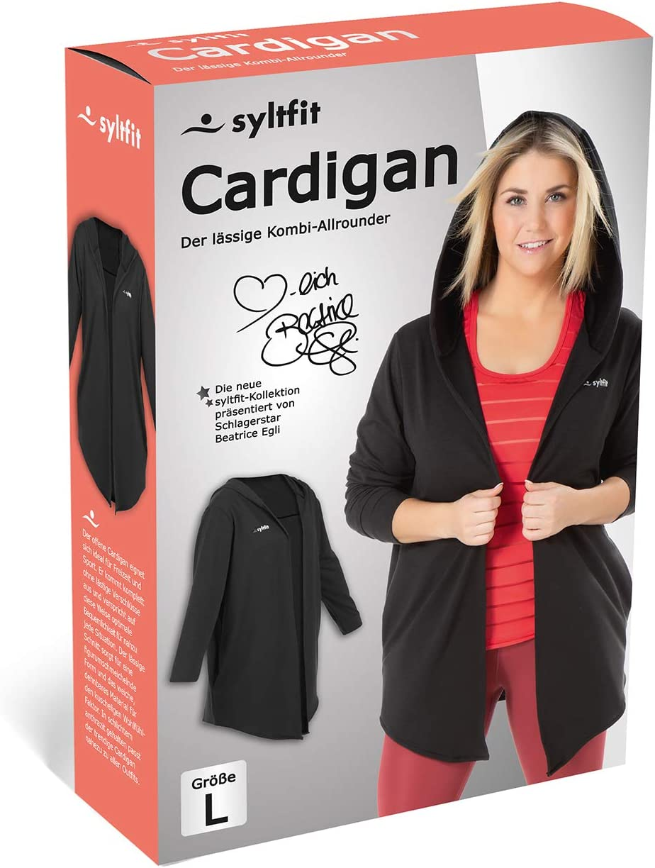 So Macht Bewegung Spass pr/äsentiert von Beatrice Egli syltfit Kollektion Cardigan Sweatshirt /& Sweathose Sport-BH und Vibrationstrainer