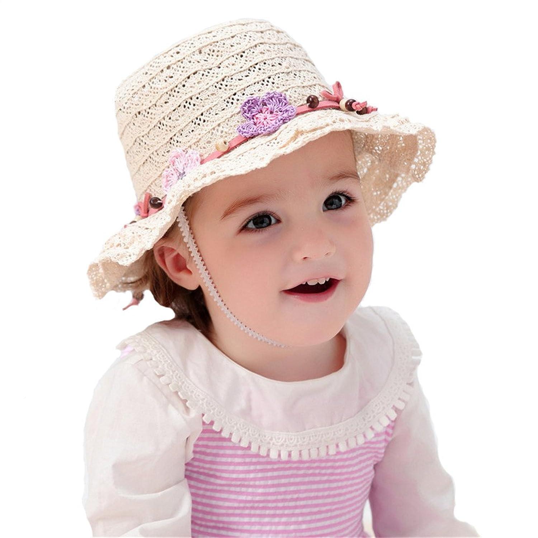 Venta caliente 2018 fangkuai-hat Capelina Paja Niñas Bebés Sombreros de Sol  de Verano Plegable 9d381ac8f96